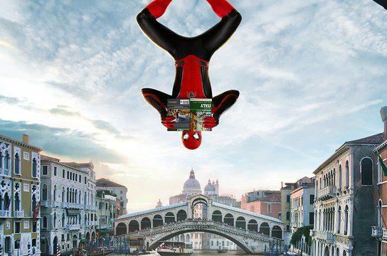 スパイダーマン:ファー・フロム・ホーム ベネチア ベニス