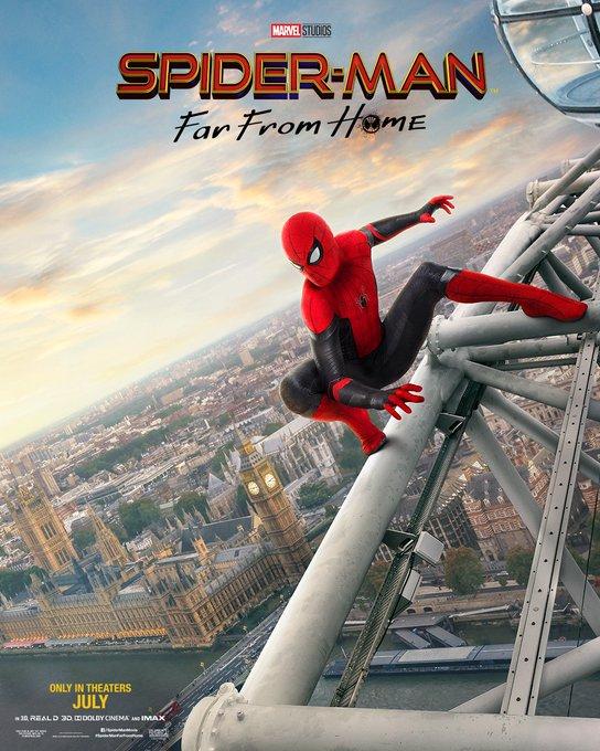 スパイダーマン:ファー・フロム・ホーム ロンドン