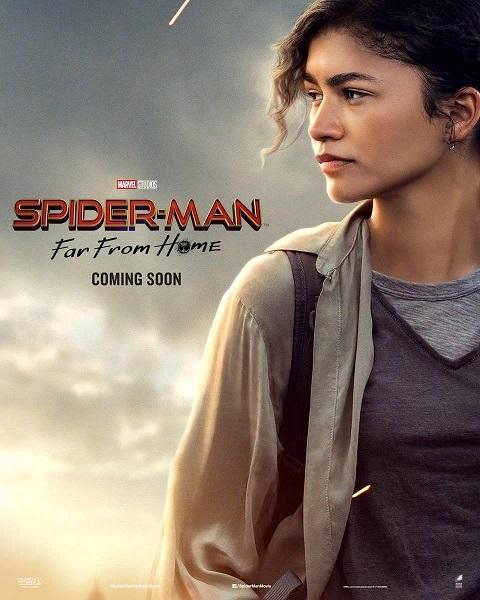 """スパイダーマン:ファーフロムホーム ポスター ミシェル・""""MJ""""・ジョーンズ"""