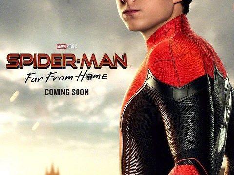 スパイダーマン:ファーフロムホーム ポスター ピーター・パーカー トム・ホランド