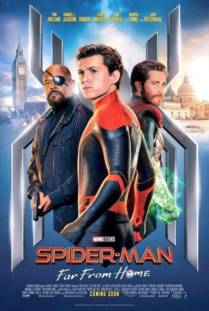 スパイダーマン:ファーフロムホーム ポスター