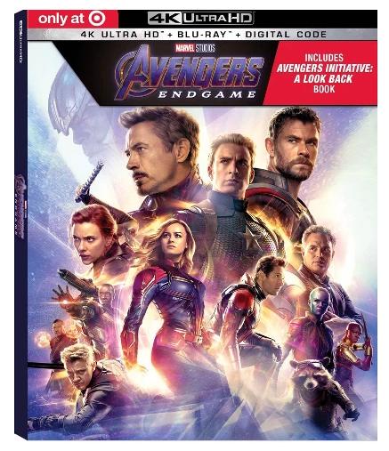 『アベンジャーズ/エンドゲーム』4K Ultra HD Blu-Ray ブルーレイ