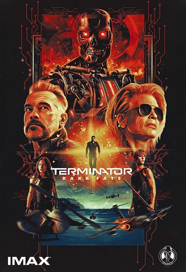 ターミネーター:ニュー・フェイト 映画関連グッズ 入場者特典 IMAX ユナイテッドシネマ