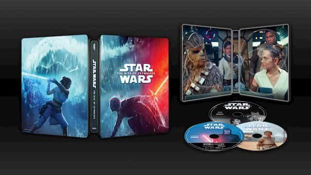 スター・ウォーズ スカイウォーカーの夜明け ブルーレイ Blu-ray DVD 特典