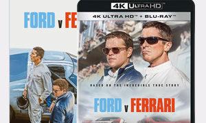 フォードvsフェラーリ ブルーレイ DVD Blu-ray
