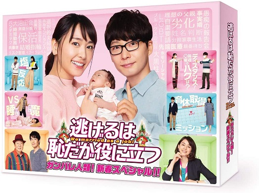 逃げ恥 Blu-ray/DVD