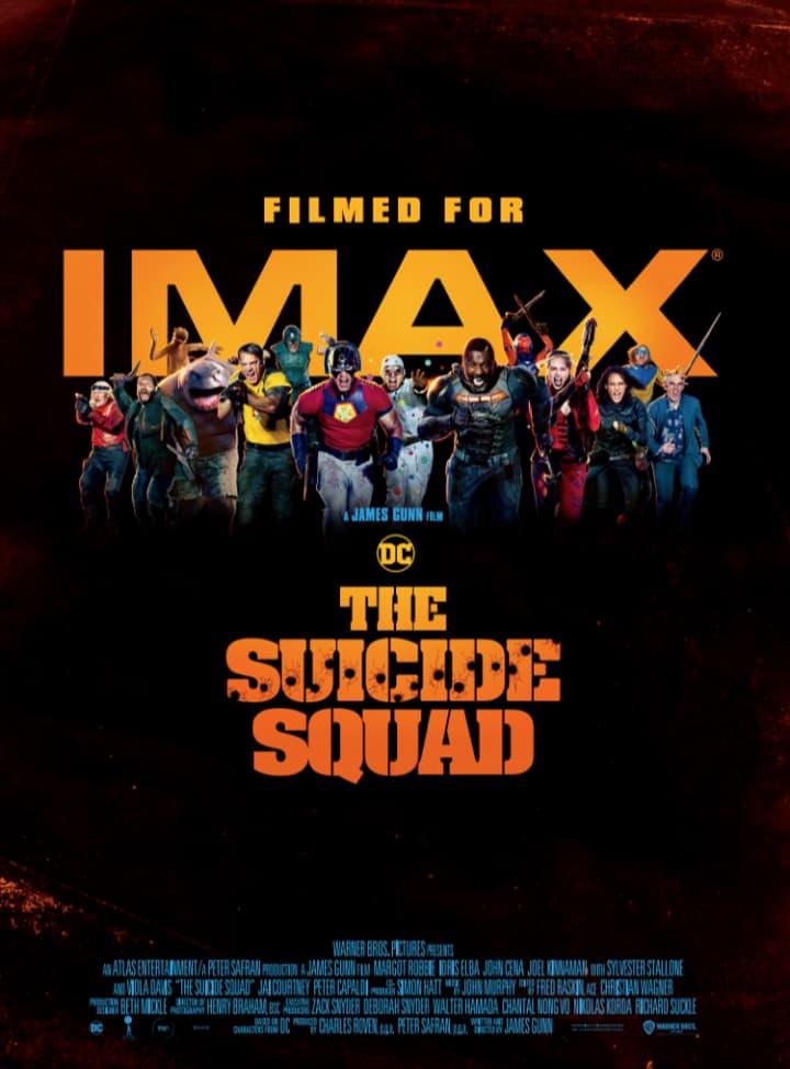 """『ザ・スーサイド・スクワッド """"極""""悪党、集結』入場者特典と IMAX®、MX4D、4DX、DOLBY CINEMA上映劇場一覧【新スースク】"""